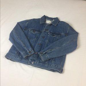 Aritzia Blue Denim Jacket